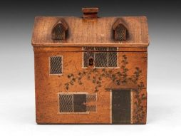 Folk House Sewing Box