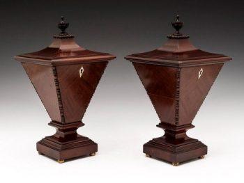 Urn Tea Caddies