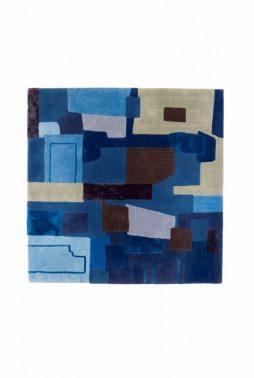 Patchwork -Handmade wool rug 2016