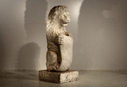 19th Century Italian Marble Lion - POA