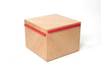 Modern Side Table - Illusion
