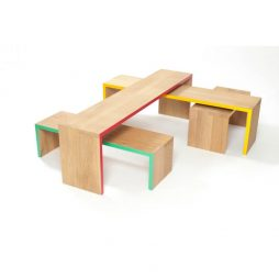 Modern Coffee Table - Bridges