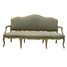 French Gilded Antique Sofa