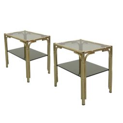 Small Pair of Side Tables