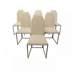 Belgo Chrome set of Chairs