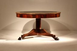 19th Century Rosewood Drum Table