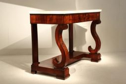 Grand-Scale 19th Century Mahogany Console