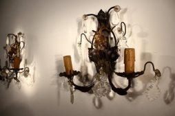 1940's French Wall Sconces