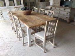 Rustic French 19thC Farmhouse Dining Table