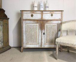 Antique Swedish 19th Century Gustavian Buffet
