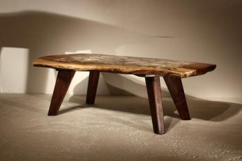 Agate Inlaid Coffee Table