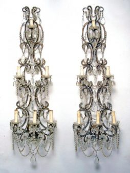 Beautiful pair of Antique Italian Wall Sconces