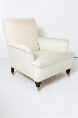 Antique English 19th Century Country House Armchair