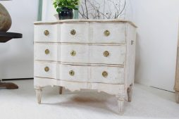 Wonderfully Curvaceous Antique Swedish Rococo Commode
