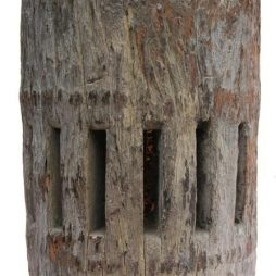 Decorative Antique Wooden Mill Block