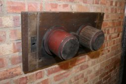 Vintage Industrial Foundry Moulding Template