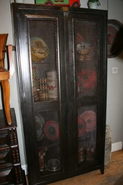 Antique Industrial Bookcase