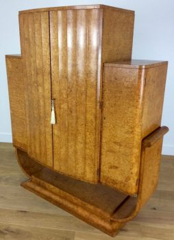 Birdseye maple furniture archives interior boutiques antiques for sale and mid century - Epstein art deco furniture ...
