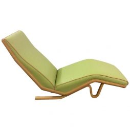 Rare Chaise Longue Designed By Andrew J Milne