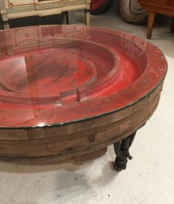 19th Century Industrial Circular Coffee Table