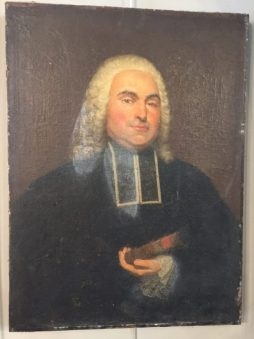 Antique Oil on Canvas of a French Magistrate