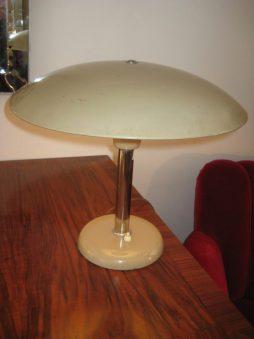 French Enamalled Mushroom Lamp