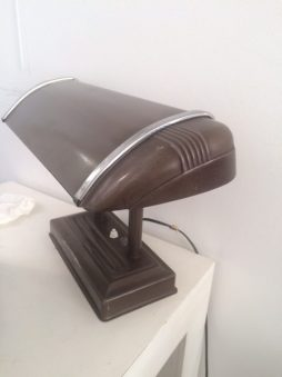Industrial Metal Desk Lamp
