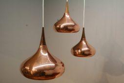 Jo Hammerborg Copper Orientale Lamps - POA