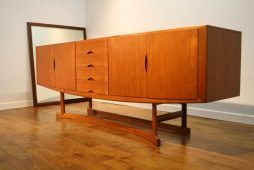 Johannes Andersen Danish Teak Sideboard by Hans Bech