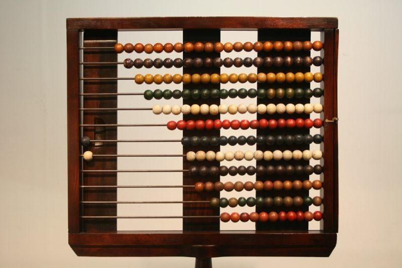 Antique Victorian School Abacus Interior Boutiques