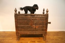 19th Century Large Swat Valley Cedar Chest