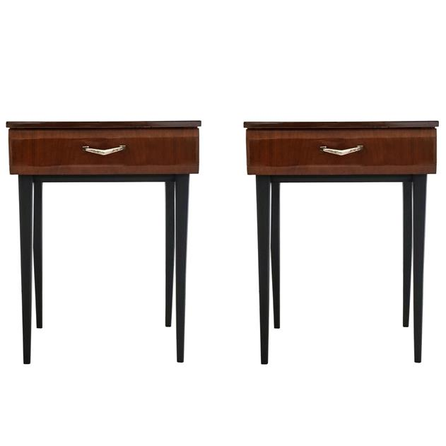 English 1950s Bedside Tables