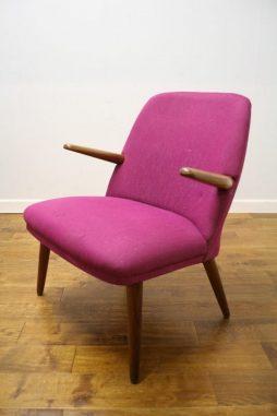 Kurt Olsen Style Teak Danish Armchair