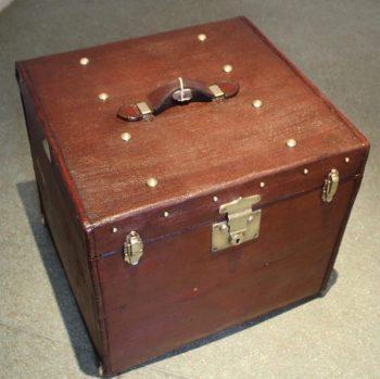 Antique Edwardian Hat Box