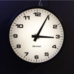 Mid 20th Century French Bodet Wall Clock