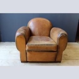 Vintage Leather Club Armchair