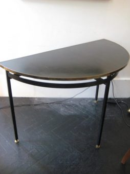 Mid-Century Design Demie Lune Console Table