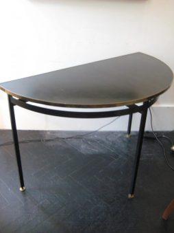 Mid-Century Design Demie Lune Console Table