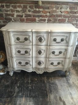 Antique 19th Century French Commode Arbalete