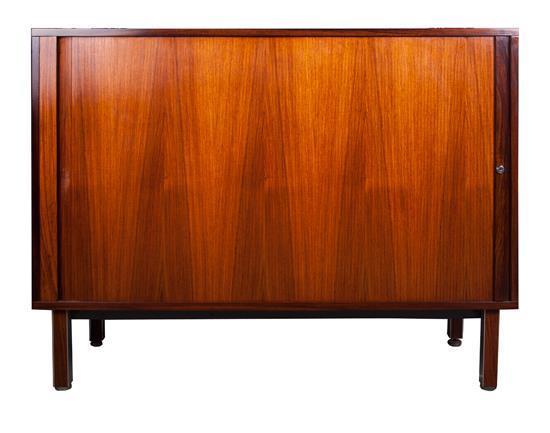 Attrayant Mid Twentieth Century Modern Design Tambour Cabinet