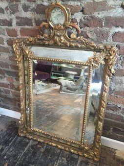 Antique 19th Century Marginal Mirror