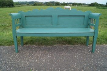 Antique 19th Century Painted Bench