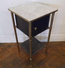 Antique Industrial Bedside Cabinet