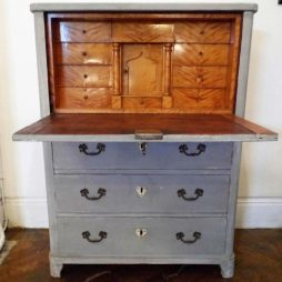 Early 19th Century Antique Swedish Bureau