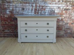 Antique 19th Century French Commode Chest of Drawers