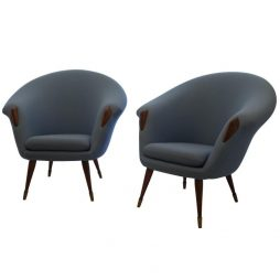Pair of Arm Chairs Att. to Nanna Ditzel - POA