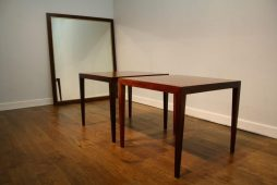 Pair of Danish 1960s Lamp Tables by Haslev