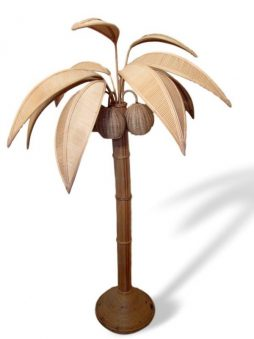 Mid-Century Palm Tree Floor Lamp - POA