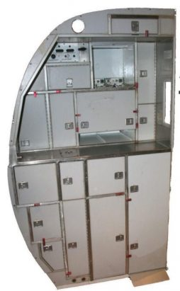 Vintage Aircraft Galley Kitchen