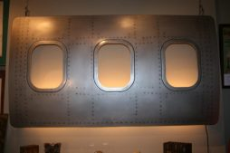 Vintage DC 10 Aircraft Window Light